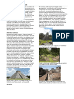 Arquitectura pintura y ceramica maya