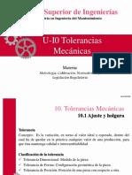TOLERANCIAS MECANICAS
