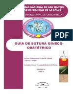 GUIA DE SUTURA GINECO OBSTETRICA