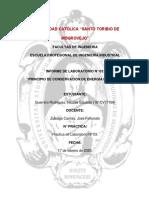 Informe de Mecánica Vectorial N°03