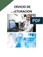 SERVICIO DE FACTURACION