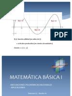 Inecuaciones polinomicas racionales (1)