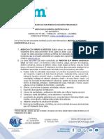 1.F22.V2.18 AUTORIZACION PARA EL TRATAMIENTO DE DATOS PERSONALES