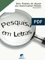 Sociolinguística Pesquisa Em Letras, Livro