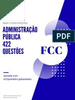 Administração Pública Geral FCC