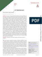 Biochemical activity of vaborbactam
