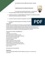 RITO DE ADMISIÓN A LA ORDEN SEGLAR DE LOS CARMELITAS DESCALZOS