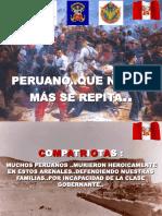 Nunca olvides peruano