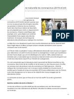 medias-presse.info-Limpossible origine naturelle du coronavirus 2019-nCoV