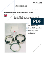 20- Reconditioning of Mechanical Seals
