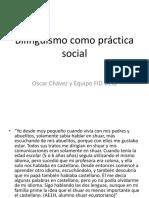 PPT Bilingüismo Oscar Chávez