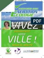 Yvette Duchemann, candidate à St-Denis