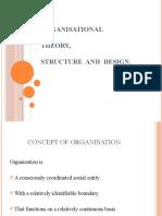 Organisational Theory 1