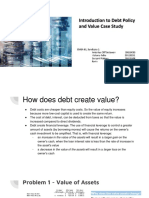 Syndicate 1 - An Introduction to debt policy and value.pptx
