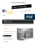 Order of Worship 12 12 2010 v1