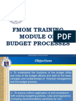 BUDGET OVERVIEW (Budget Officer)