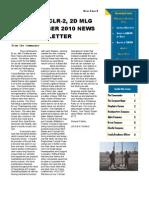 CLB-2 November Newsletter