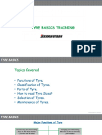 Tyre Basics Training Presentation