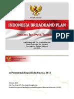Indonesia Broadband Plan