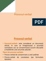 Procesul-verbal