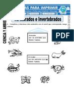 Ficha-de-Vertebrados-e-Invertebrados-para-Segundo-de-Primaria
