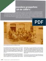 Vlaamse Stam 2018-4 Een Bijzonder Groepsfoto Uit de 1860s
