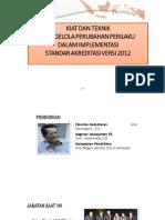 Dr. Sutoto - KIAT DAN TEKNIK  MENGELOLA PERUBAHAN PERILAKU STAF KLINIS
