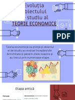 Evolutia teoriei economice