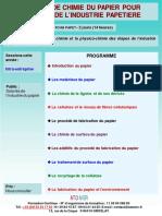Formation Continue Notions de Chimie Du Papier Pour Salaries de Industrie Papetiere