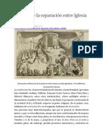 Laicismo - Historia de la Separación Iglesia Estado - 2018.docx