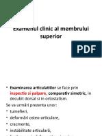 LP Explorarea clinica osteoarticulara membru superior.pptx