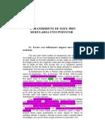 CAPITOLUL 3 Transmisiuni de date prin modularea unui purtator