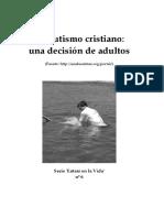 6. El bautismo cristiano