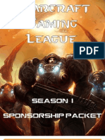 SGL Season I Sponsorship Packet