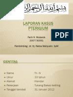 Lapkas Pterigium farih