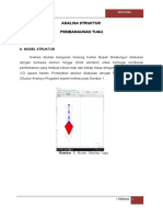 Analisa Struktur Tugu