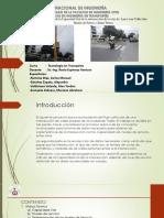 Simulación de capacidad Vial en intersección de  Víctor Larco con calle San Martin