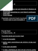 Functii Hash -  MD5 & SHA1 2016