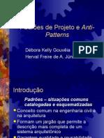 Padroes de Projeto e Anti-Patterns