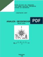 Analiza geodemografica