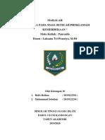 Pancasila 10. Pancasila stlh Proklamasi Kemerdekaan