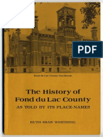 The History of Fond Du Lac County
