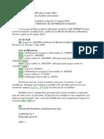 L 288 2004 - Organizarea Studiilor Universitare