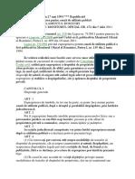 L 33 1994 - Exproprierea Pentru Cauză de Utilitate Publică