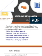Manajemen Farmasi Analisa keuangan