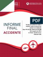 Informe Final Accidente HK588 Fuminorte  Obando 26-ago-16