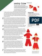 Santa's Laundry Line Tutorial from Ornamentea.com