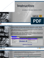 PASO A PASO ACTUALIZACION DE DATOS Nuevo Formato