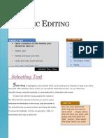 Ch.2.Basic Editing