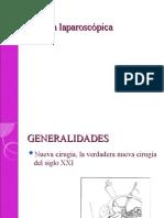 Cirugía laparoscópica